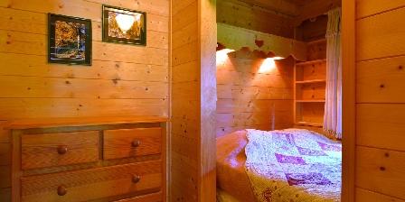 Le Chalet Chambre cocooning avec lit-clot en 140cm