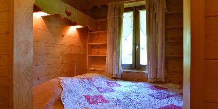 Le Chalet La chambre cocooning lit-clot, couchage en 140 cm