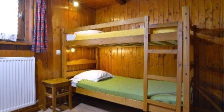 Le Chalet La chambre n° 4, 2 lits superposés en 90cm