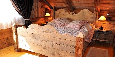 Le Chalet Une chambre ambiance vieux chalet