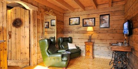 Le Chalet Le confortable salon privé