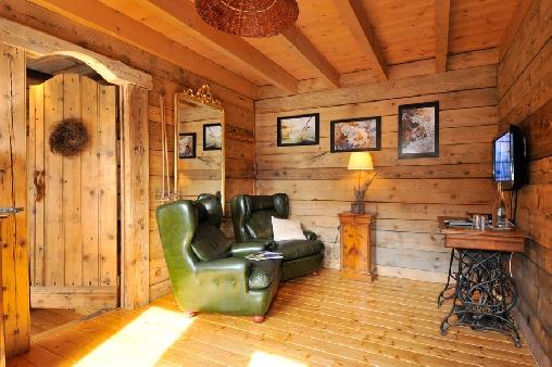 Chambre d'hote Haute-Savoie - Le confortable salon privé