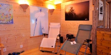 Le Chalet L'espace détente avec sauna