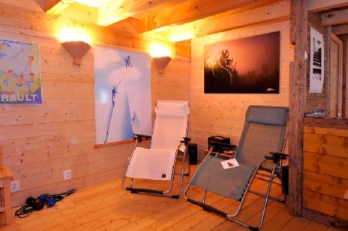Chambre d'hote Haute-Savoie - L'espace détente avec sauna