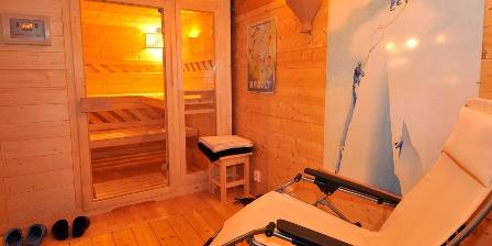 Le Chalet Le coin détente avec sauna