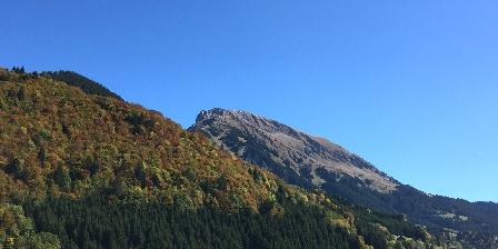 Le Chalet Vue depuis la balcon, le Mt de Grange 2432m