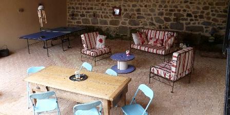 Gîte de Croupière Terrasse couverte