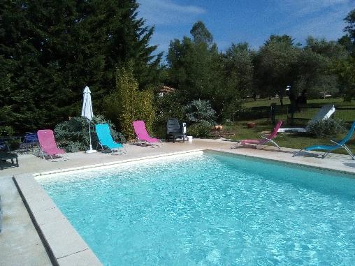 Chambre d'hote Gard - la piscine 12m x 5m