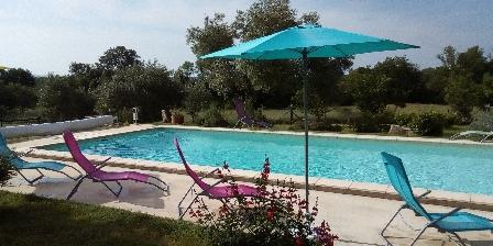 Les Fées du Gard La piscine