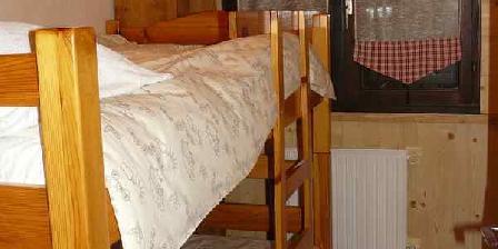 Gîte Serge Magnani Petite chambre : lits superposés