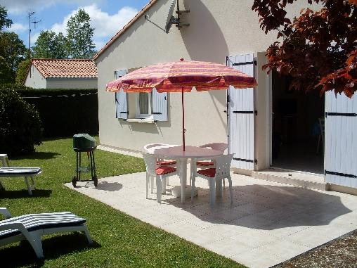 Chambre d'hote Charente-Maritime - terrasse sans vis-à -vis
