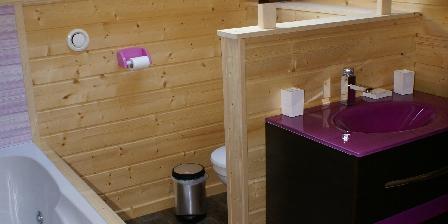Chalet  Poème Salle de bain étage avec baignoir à remous