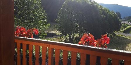 Chalet  Poème Vue du balcon