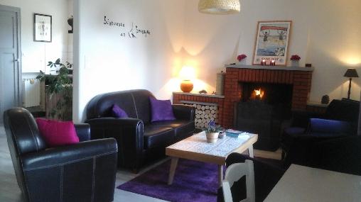 Chambre d'hote Côtes-d'Armor - Salon