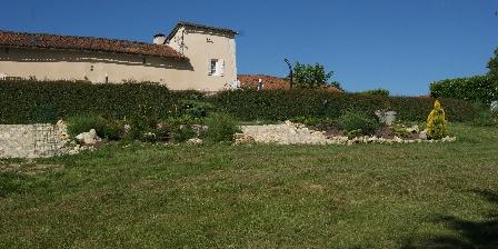 Location Saisonnière Les Roses de Blanchardière Vue du parc