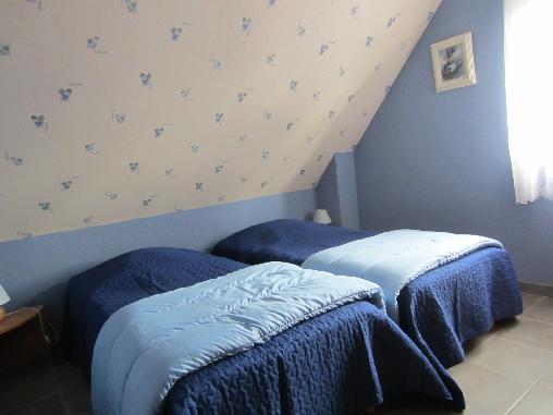Chambre d'hote Haut-Rhin - chambre bleue