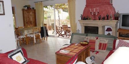 Villa avec Piscine 6 pers Golfe de St Tropez Salle de séjour