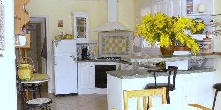 Villa avec Piscine 6 pers Golfe de St Tropez Cuisine 15m2
