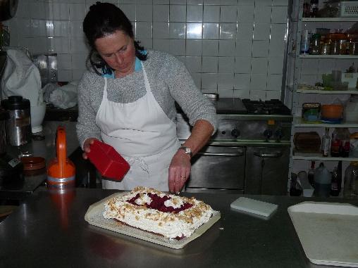 Chambre d'hote Hautes Alpes - le chef de cuissine