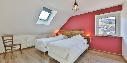 Locations des 3 Sommets A nice bedroom with wonderfull views