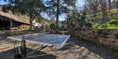 Locations des 3 Sommets Ping pong table