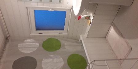 Gîte de France Brugière Salle de bains du gîte