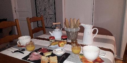Gîte de France Brugière Petit déjeuner