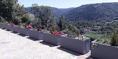 Gîte de France Brugière Panorama vu du gîte et chambre d'hôtes