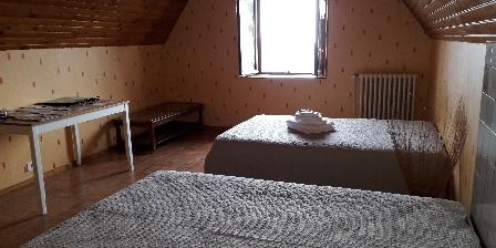 Gîte de France Brugière Chambre privée 4 personnes