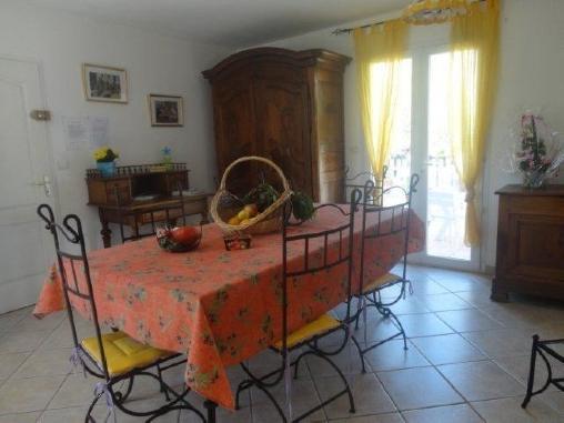 Chambre d'hote Bouches du Rhône - salle à manger