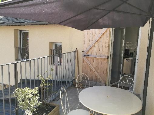 Vue oartielle terrasse 1er etage