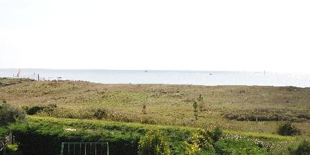 Locations Penvins Vue mer de la terrasse