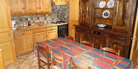 Chez Adalbert Gite la grange, cuisine et repas