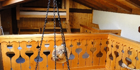 Chez Adalbert Gite la grange mezzanine