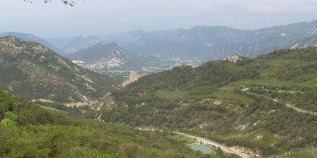 Gîte Les Fontettes La vallée de l'Oule