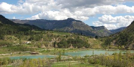 Gîte Les Fontettes Le lac de Cornillon
