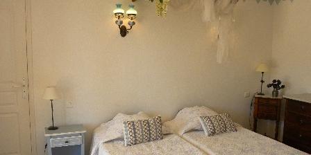 La Bergerie Blue Bedroom