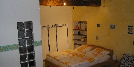 Maison de Village à Pomérols Bedroom on the 1st floor