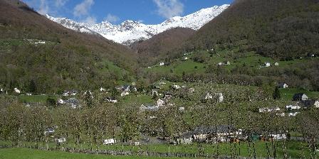 Location Saisonnière Chalet Yassete Vue depuis le châlet