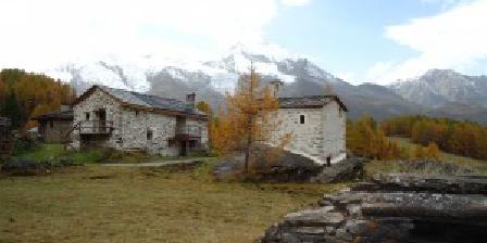 Chalet Les Clarines La montagne en hiver