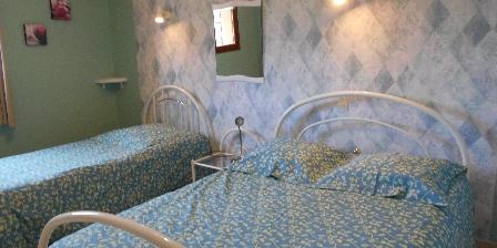 Au Bois du Loup Chambre avec 2 lits 140 et 90