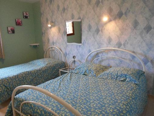 Chambre d'hote Ardennes - chambre avec 2 lits 140 et 90