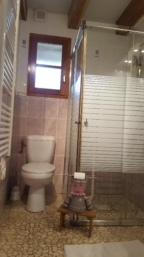salle de bains au rez-de-chaussée