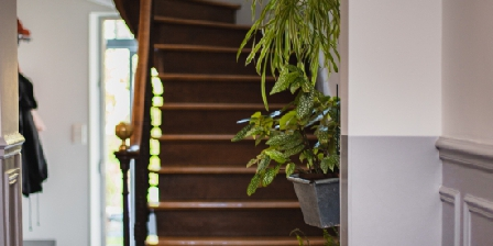 La Villa Dunois Escalier