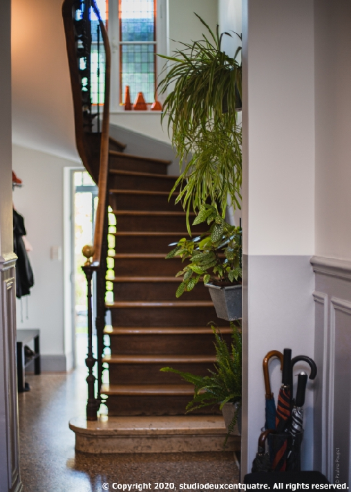 bed & breakfast Loiret - Staircase