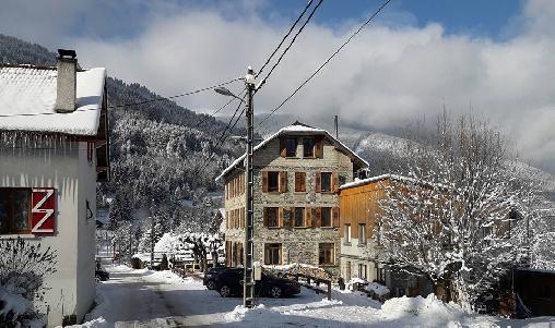 camp de base des activités hivernales