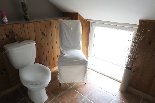 bed & breakfast Morbihan - Bathroom amber