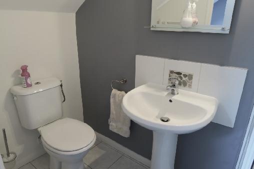 bed & breakfast Morbihan - Bathroom topaz