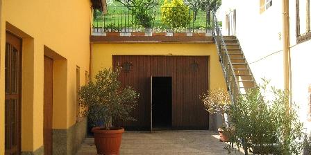 Gite Baumeyer Martin Cour fermée avec acces terrasse