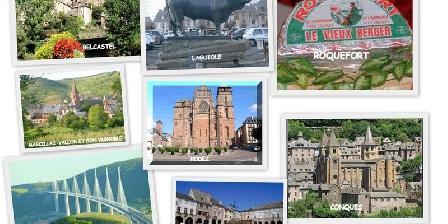 Gîte L'Oustalou Quelques sites à voir